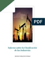 La Clasificación de Las Industrias