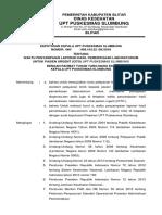 Sk 8.1.3.1 Waktu Penyampaian Laporan Hasil Pemeriksaan Laboratorium Cito