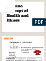 Filipino Concept of Health and Illness2003