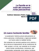 La familia en la prevención de sustancias sicoactivas