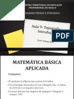 Aula - Matemática Básica Aplicada