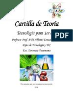 Cuadernillo de Tec 1eraño-2016-Diseño Curricular-Docencia Tucumana