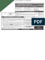 PPSC  Advt 08-2018- 20-03-2018