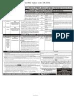 PPSC  Advt 10-2018- 02-04-2018