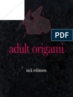 Nick Robinson Adult Origami