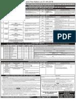 PPSC  Advt 09-2018- 27-03-2018