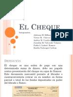El Cheque Diapositivas