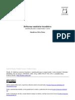 Livro - Reforma Sanitária Brasileira - Contribuição para a compreensão e crítica.pdf