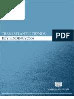 Transatlantic Trends 2006