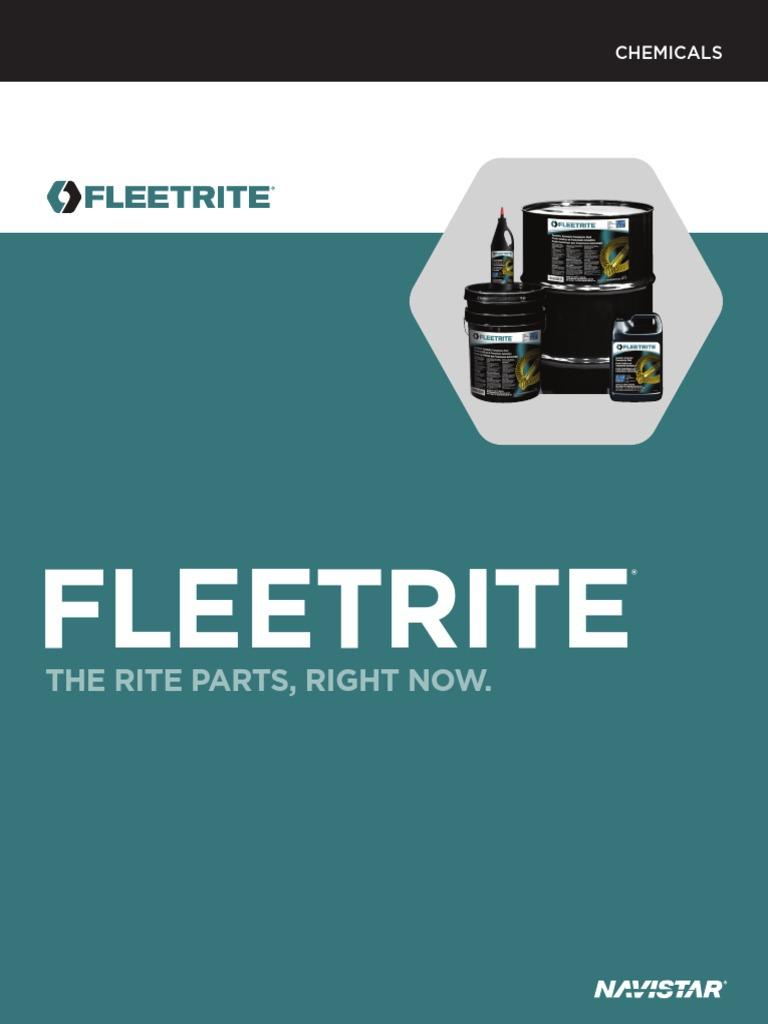 Productguide_chemicals Aceites Fleetrite | Aceite para ...