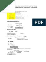 01 Calculo Estructural barraje sin canal.xlsx