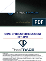 Using Options for Consistent Returns for Schaeffers