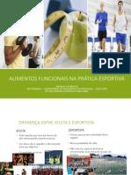 Alimentos Funcionais Na Prática Esportiva - Minicurso Unigranrio 2017