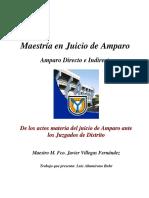 00 Ensayo de Los Actos Materia Del Juicio de Amparo Ante Los Juzgados de Distrito