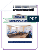 Carpeta Pedagogica Comunicacion 2018 Pitumarca
