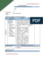 SESIÓN DE APRENDIZAJE -  III CICLO (1°, 2°)   MARZO