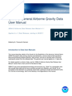 NGS GRAV-D General Airborne Gravity Data User Manual v1.1