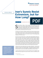 Iran's Sunnis Resist Extremism, but for How Long?