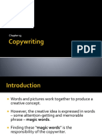 Copywriting in advertising
