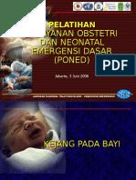 10 Kejang Pada Bayi