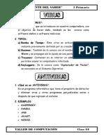 2.- 5 Primaria (Virus y Antivirus)