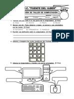 1.- 3 PRIMARIA (Evaluación I Unidad)