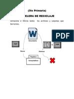 2.- 5 Primaria - Papelera de Reciclaje
