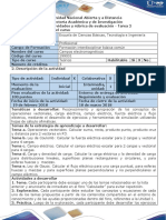 Guía de Actividades y Rúbrica de Evaluación - Tarea 2 - Campo Eléctrico