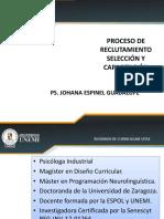 Taller PROCESO DE RECLUTAMIENTO- SELECCION- CAPACITACION