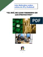 El Rol de Lean Thinking en Los Proyectos