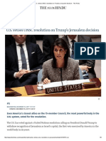 U.S Jerusalem