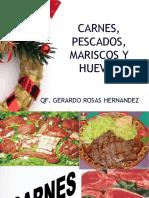 3 .Carnes, Pescados, Mariscos y Huevos 2013