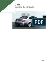 Véhicule BMW E60 M5