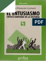 Lyotard, Jean-François - El entusiasmo.pdf
