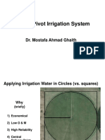 Center Pivot Irrigation Design