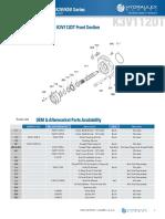 K3V Series Parts Diagrams