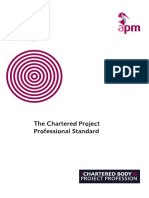 Chartered Project Professional Standard