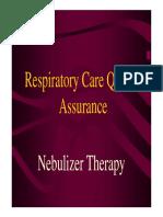 Nebulizer Therapy