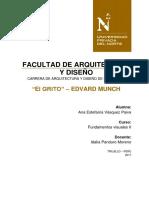 Informe Edvard Munch