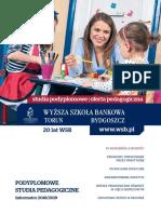 Informator 2018 - Wyższa Szkoła Bankowa w Toruniu_SP
