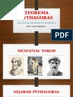Ppt Siwi Sarwasih Teorema Pythagoras
