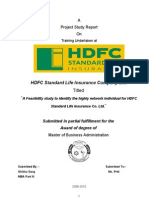 23909652 Project Hdfc