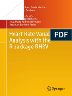 (Use R!) Martinez, Constantino Antonio Garcia-Heart Rate Variability Analysis With the R Package RHRV-Springer (2017)