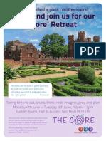 CORE Retreat June 2018