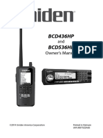Uniden BCD536HP Scanner User Manual
