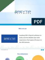 Greytip Corporate Presentation