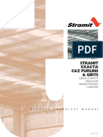 Exacta C and Z Purlins and Girts Design (1)