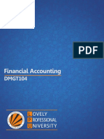 Dmgt104 Financial Accounting