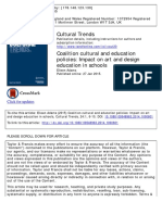 Cultural and Educational Policies