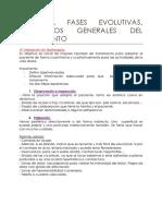 2. Fases Evolutivas, Conceptos Generales Del Tratamiento